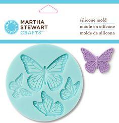 Martha Stewart Martha Stewart Crafter s Clay Silikon Formen 4//pkg-graceful Bloom