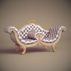 model of jc hermes sofa Unusual Furniture, Royal Furniture, Funky Furniture, Home Decor Furniture, Luxury Furniture, Vintage Furniture, Furniture Design, Rustic Furniture, Victorian Sofa