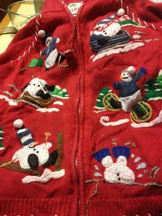UGLY CHRISTMAS SWEATER Tacky Gaudy Holiday Clothing by BargainBitz, $25.00