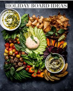 11 Crudités Platters We Want to Recreate This Summer - - These aren't your plastic trays from the grocery store. Food Platters, Cheese Platters, Cheese Appetizers, Appetizers For Party, Appetizer Ideas, Appetizer Recipes, Roasted Garbanzo Beans, Charcuterie And Cheese Board, Cheese Boards