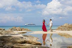 grand cayman cruise wedding