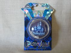 Disney Pin - 60th Diamond Celebration Bubble Castle with Moving Style Diamonds
