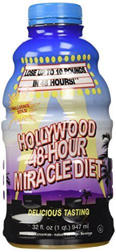 Hollywood 48-Hour Miracle Diet 32 fl oz Liquid ** Continue to the product at the image link.