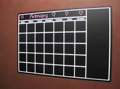 Perpetual Blackboard Chalkboard Vinyl Calendar Chalkboard Classroom, Chalkboard Calendar, Chalkboard Vinyl, Calendar Wall, Vinyl Wall Quotes, Vinyl Wall Decals, Tool Room, Dry Erase Calendar, Graphic Quotes