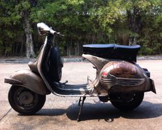 #Vespa Gs150 #Vs5 #Vintage Scooter1959 #Grand Sport