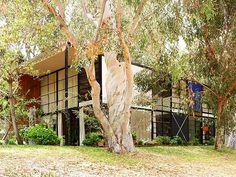 Eames House, Charles and Ray Eames, 1949, Pacific Palisades, California, USA