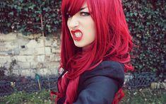 Los mejores tonos de color rojo cereza para poder descubrir que tipo de tintura es la ideal para tu cabello dependiendo la pigmentación de la piel.
