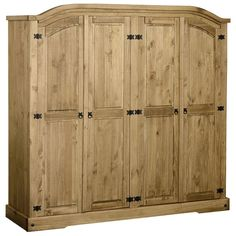 Corona 4 Door Wardrobe with Free Delivery