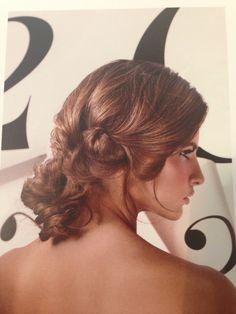 Wedding hair up.