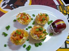 Yum! I'd Pinch that! | Buffalo Chicken Mini Bites #recipe #justapinch