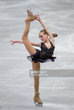 News Photo : Alisa Lozko of Russia competes during the junior...
