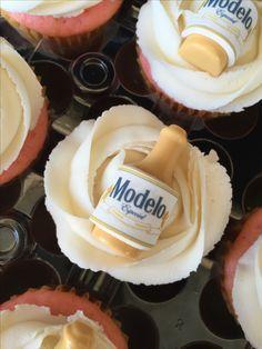 Modelo beer cupcakes