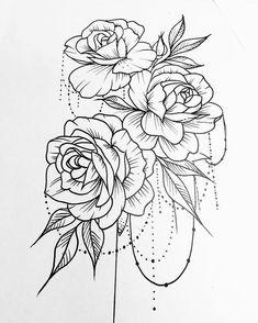 #roses #rosetattoo #tattoodesign #tattooartist #neoncrab Butterfly Thigh Tattoo, Rose Tattoo Forearm, Flower Tattoo Foot, Lace Tattoo, Flower Tattoos, 3 Roses Tattoo, Rose Tattoo Stencil, Paisley Shoulder Tattoos, Shoulder Tattoos For Women