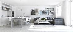 Image result for divide kitchen in small apartment