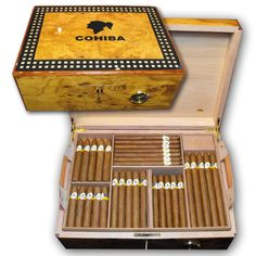 Cohiba 35th Anniversary Humidor / THE GIFT OF GODS