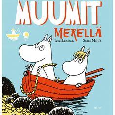 Kirja MUUMIT MERELLÄ - Partioaitta -kirja -finland -joululahjavinkki - joululahja - christmas - present www.partioaitta.fi