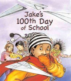 Jake is so excited about his 100th Day of School, he runs to catch the school bus without his project, but fortunately, with the help of his principal, Jake is able to find a perfect substitute for hi