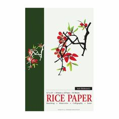 Art Shed Online - Richeson Rice Paper Pad 12x 18 Inch, $48.00 (http://www.artshedonline.com.au/richeson-rice-paper-pad-12x-18-inch/)