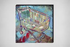 "Saatchi Online Artist: roberto valentin carrera; Acrylic, 2012, Painting ""Carrito """