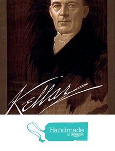 """Kellar"" (3) c1890's - A4 Glossy Vintage Magicians' Poster Art Print from The Andromeda Print Emporium https://www.amazon.co.uk/dp/B0721575SX/ref=hnd_sw_r_pi_dp_ZAaozbP5XX75W #handmadeatamazon"