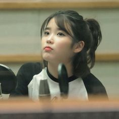 Iu Short Hair, Iu Hair, Short Hair Styles, My Girl, Cool Girl, Iu Fashion, Korean Star, Foto Pose, Korean Beauty
