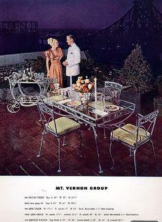 vintage patio furniture ad bing images vintage ads catalogs