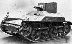 British Tanks of the Inter-war Decades - Vickers Light Tank Mk I
