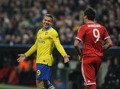 Podolski vs Bayern Munich 2013-2014.