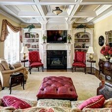Traditional Family Room by Wolford Building & Remodeling