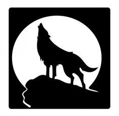 lobo cabeza dibujo - Buscar con Google