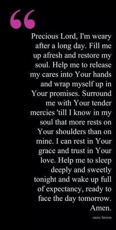 Goodnight prayer