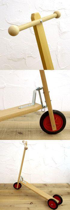 ベルギー Egmont toys エグモントトイズ 3輪キックボード