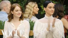 Emma Stone & Katy Perry Watch the Creative Final Fashion Show | EP. 5 | ...