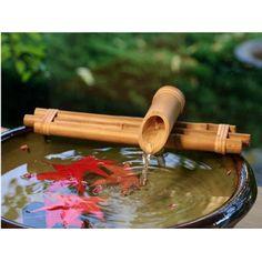 Bamboo Three-Arm Fountain Kit, Bamboo Fountain, Water Feature