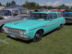 1964 Plymouth Fury Wagon by Lebaroncruiser, via Flickr