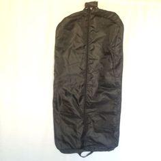 Sears Forecast Mens Black Garment Bag 48 Inch Carry On Suit Bag