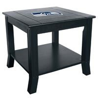 Seattle Seahawks Side Table: Show your team spirit with the NFL Official Licensed Team Side Table. The… #Sport #Football #Rugby #IceHockey