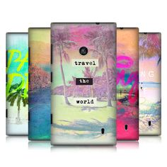 HEAD CASE DESIGNS BEACH LOVIN' HARD BACK CASE COVER FOR NOKIA LUMIA 520