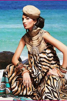 Summer Lawn Collection by Pakistani Fashion Designer, Maria B