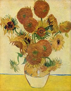 Vincent van Gogh: Sunflowers (1888) London, National Gallery high resolution image
