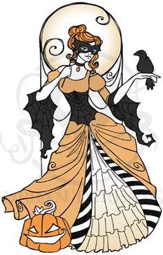 Halloween Masquerade design (UTC2692) from UrbanThreads.com