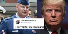 A Top Colonel Just Responded To Trump's Transgender Ban By Calling Out His Entire Family