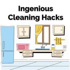 Hacks Diy, Cleaning Hacks, Natural Cleaners, Diy Cleaners, Tidy Up, Spring Cleaning, Clean House, Household, Gallery Wall