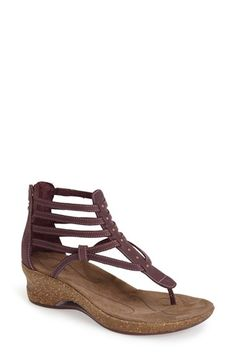 Ahnu 'Merida' Leather Thong Sandal available at #Nordstrom