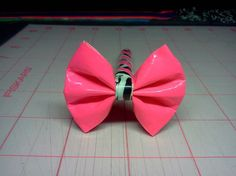 Duct tape bow pen