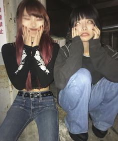 Image about babes in ok by Lian on We Heart It Aesthetic Japan, Japanese Aesthetic, Bad Girl Aesthetic, Aesthetic Photo, Aesthetic Pictures, Goth Aesthetic, Korean Girl, Asian Girl, Pretty People