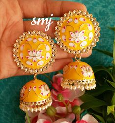 Indian Jewelry Earrings, Indian Jewelry Sets, Jewelry Design Earrings, Head Jewelry, India Jewelry, Antique Earrings, Girls Earrings, Wedding Jewelry, Jewelery