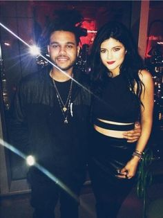 Kylie j. & The weeknd