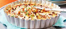 Kantarellipiirakka | Pääruoat | Reseptit – K-Ruoka Quiche, Mashed Potatoes, Macaroni And Cheese, Breakfast, Ethnic Recipes, Food, Drink, Inspiration, Whipped Potatoes