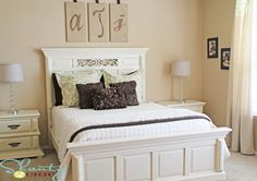 DIY Furniture Transformation - http://www.shanty-2-chic.com/2011/11/painting-bedroom-furniture.html#